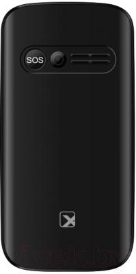 Мобильный телефон Texet TM-B227 (черный)
