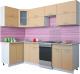 Готовая кухня Интерлиния Мила Gloss 50-12x26 (капучино глянец) -
