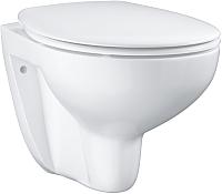 Унитаз подвесной GROHE Bau Ceramic 39351000 (с микролифтом) -