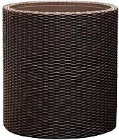 Кашпо Keter Cylinder Planter S / 223940 (коричневый) -