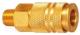 Штуцер пневматический Sumake EC40M -