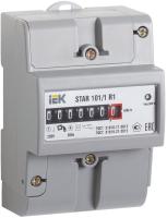 Счетчик электроэнергии индукционный IEK STAR 101/1 R1-5(60)М / CCE-1R1-1-01-1 -
