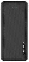 Портативное зарядное устройство Crown CMPB-2003 (черный) -