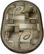 Ковер Белка Домо Овал 27005 29646 (1.5x3) -