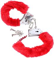 Наручники Pipedream Beginners Furry Cuffs / 15974 (красный) -