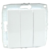 Выключатель Mono 500-001922-114 (белый) -