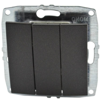 Выключатель Mono 500-002022-114 (графит) -