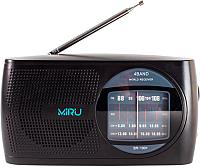 Радиоприемник Miru SR-1001 (черный) -