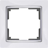 Рамка для выключателя Werkel WL03-Frame-01 / a028880 (белый) -
