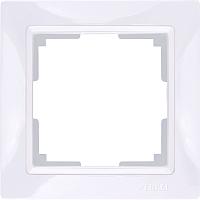 Рамка для выключателя Werkel Basic WL03-Frame-01 / a036625 (белый) -