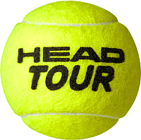 Набор теннисных мячей Head Tour / 570703 (3шт) -