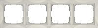 Рамка для выключателя Werkel Basic WL03-Frame-04 / a036633 (слоновая кость) -