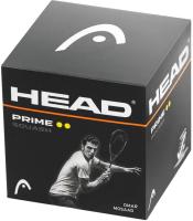 Набор мячей для сквоша Head Prime Squash Ball / 287306 (12шт) -