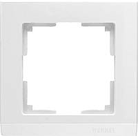 Рамка для выключателя Werkel WL04-Frame-01 / a028921 (белый) -