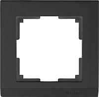 Рамка для выключателя Werkel WL04-Frame-01 / a029214 (черный) -