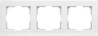 Рамка для выключателя Werkel WL04-Frame-03 / a028923 (белый) -