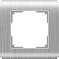 Рамка для выключателя Werkel WL12-Frame-01 / а034326 (серебряный) -