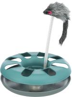 Игрушка для кошек Trixie Безумный круг с пушистой мышкой 4135 -