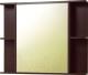 Шкаф с зеркалом для ванной Акваль Карина 85 / ЕК.04.86.00.L -