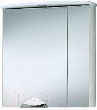 Шкаф с зеркалом для ванной Акваль Аврора 65 / ЕА.04.65.00.L