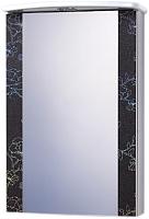 Шкаф с зеркалом для ванной Акваль Токио 50 / ТОКИО.04.50.02.L -