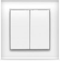 Выключатель Universal Бриллиант 7947403 (белый) -
