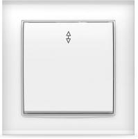 Выключатель Universal Бриллиант 7947373 (белый) -