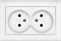 Розетка Universal Бриллиант 7947519 (белый) -