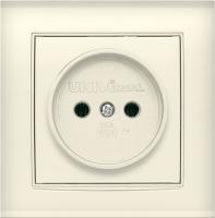 Розетка Universal Бриллиант 7948806 (слоновая кость) -