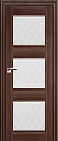 Дверь межкомнатная ProfilDoors 4X 60x200 (орех сиена/стекло ромб) -