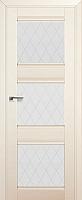 Дверь межкомнатная ProfilDoors 4X 60x200 (эшвайт/стекло ромб) -