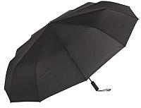 Зонт складной Ame Yoke ОК70-12В (черный) -