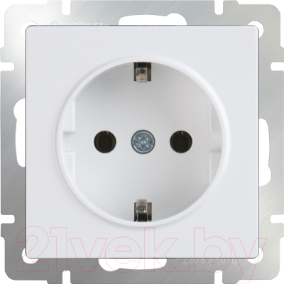 Розетка Werkel WL01-SKG-01-IP20 / a028829 (белый)