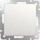 Выключатель Werkel WL13-SW-1G / a040882 (перламутровый рифленый) -