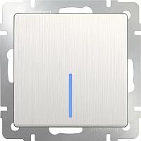Выключатель Werkel WL13-SW-1G-LED / a040887 (перламутровый рифленый) -