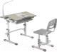 Парта+стул FunDesk Lavoro (серый) -