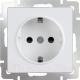 Розетка Werkel WL01-10-01 / a041199 (белый) -