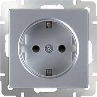 Розетка Werkel WL06-10-01 / a041201 (серебристый) -