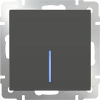Выключатель Werkel WL07-SW-1G-2W-LED / a029869 (серо-коричневый) -