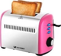 Тостер Kitfort KT-2026-6 (розовый) -
