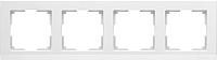 Рамка для выключателя Werkel WL04-Frame-04 / a028924 (белый) -