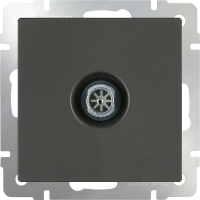 Розетка Werkel WL07-TV / a029880 (серо-коричневый) -