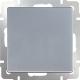 Выключатель Werkel WL06-SW-1G / a029820 (серебристый) -