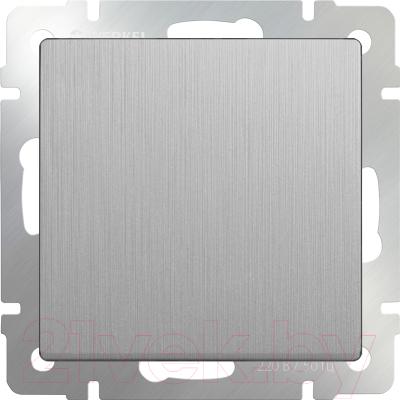Выключатель Werkel WL09-SW-1G-2W / a035652 (cеребряный)