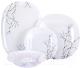Набор столовой посуды Luminarc Carine Hana White N2313 -
