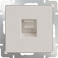 Розетка Werkel WL03-RJ-11 / a028895 (слоновая кость) -