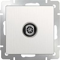 Розетка Werkel WL13-TV / a040885 (перламутровый рифленый) -