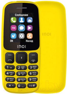 Мобильный телефон Inoi 101 (желтый)