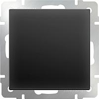Выключатель Werkel WL08-SW-1G-2W / a029867 (черный матовый) -