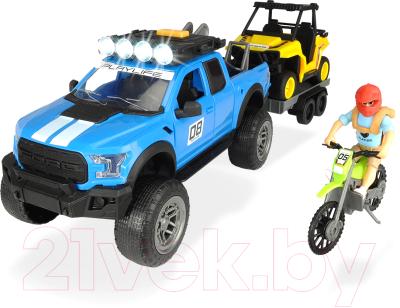 Набор игрушечных автомобилей Dickie Набор покорителя бездорожья серии PlayLife / 203838003